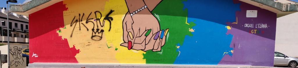 #MosaicosVivos en el Día del Orgullo LGTBIQ+ en L'Eliana